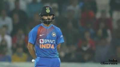 Indian Cricket Captain Virat Kohli in T20