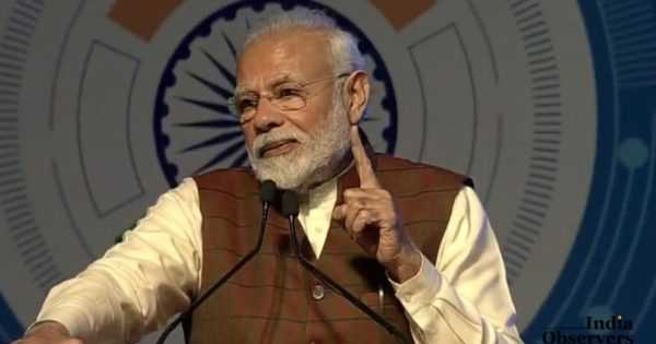 prime minister modi said that political designs were behind the anti-CAA protests at Jamia and Shaheen Bagh