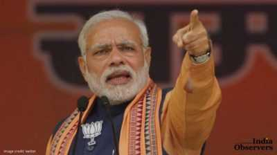 Addressing a rally in Kokrajhar on Friday, Modi said Assam's heart and souls were connected to the rest of India