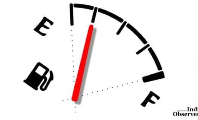 illustration motor gas gauge