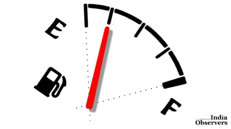 illustration motor gas gauge