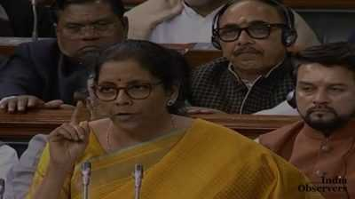 Indian FM Nirmala Sitharaman delivered her budget