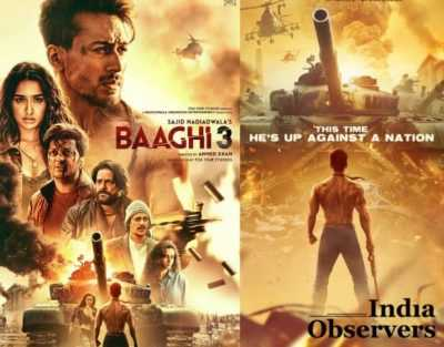 Baaghi 3 is a 2020 Indian Hindi-language action thriller film directed by Ahmed Khan