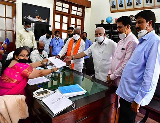 BJP Candidates announced for Rajya Sabha Elections