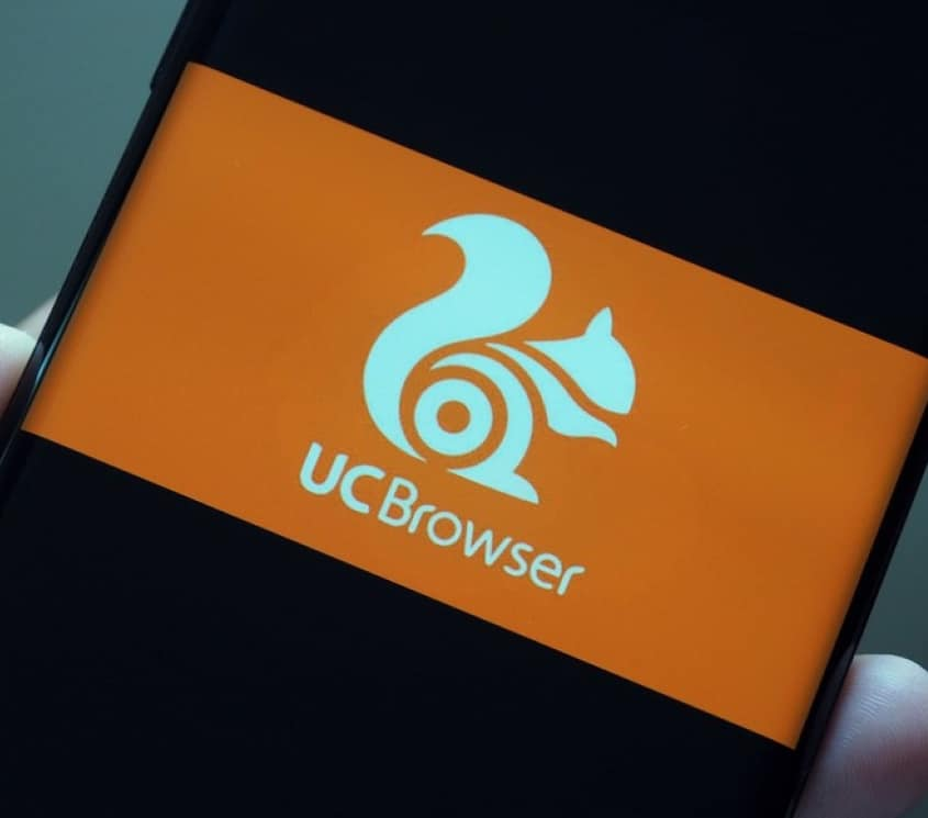 Alibaba UC Browser App in Mobile phone