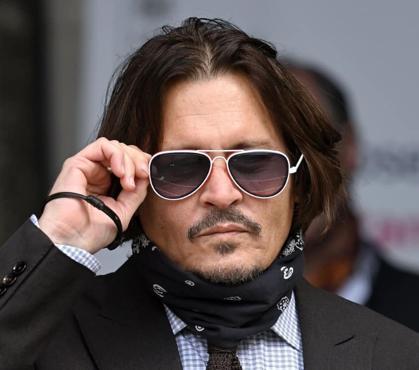 Hollywood actor Johnny Depp's former
