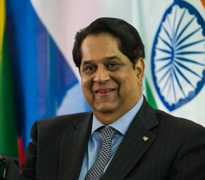 veteran Indian banker and former head of New Development Bank K.V. Kamath