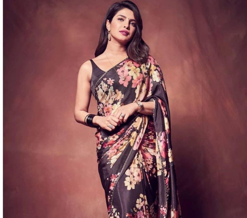 Indian Bollywood actress Priyanka Chopra Jonas