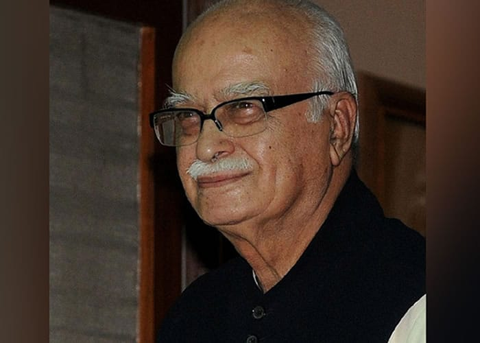 Advani in Ayodhya