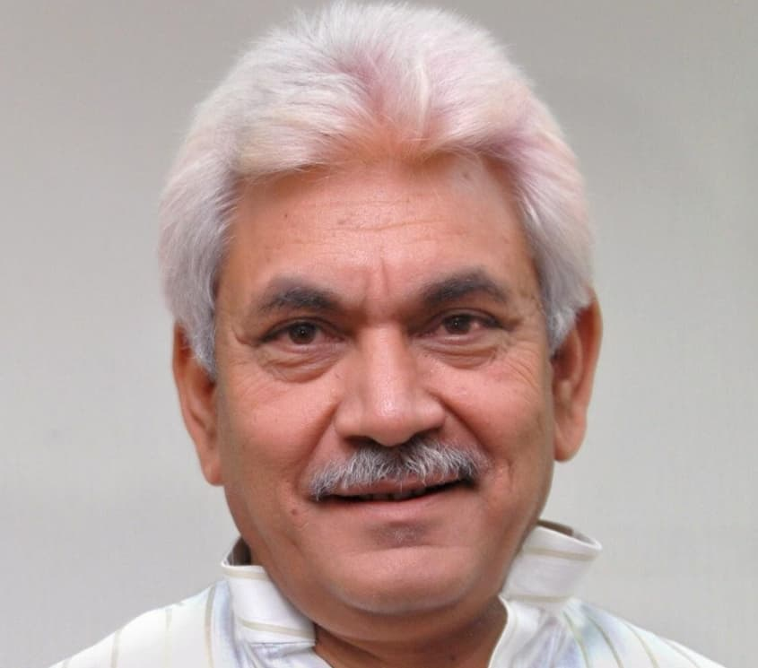 former union minister and BJP leader Manoj Sinha
