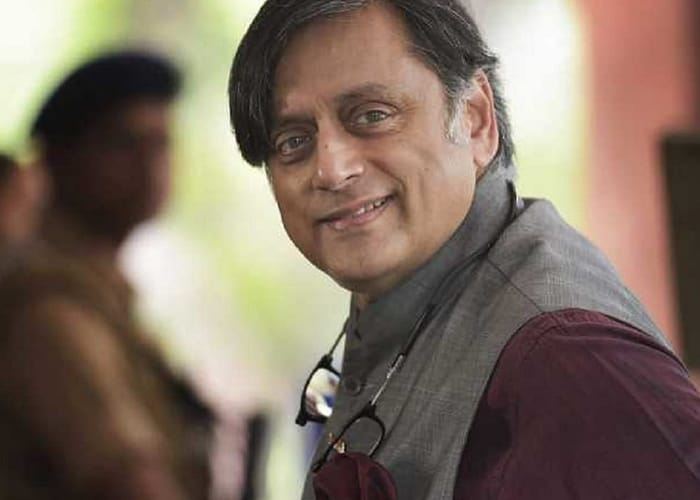 party leader and the head of the committee on Information Technology Mr. Shashi Tharoor