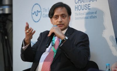 Congress MP Shahi Tharoor