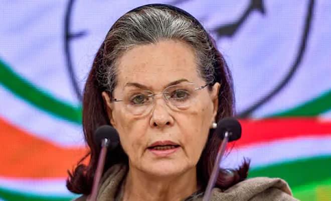 Congress leader Sonia Gandhi