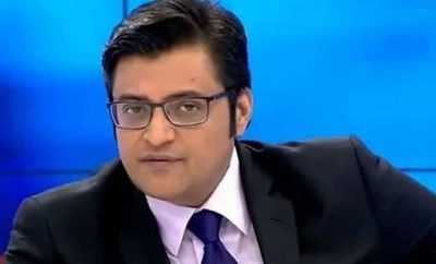 Republic TV Editor in Cheif Arnab Gowsmi