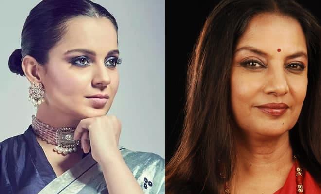 Shabana Azmi and Kangna Ranaut
