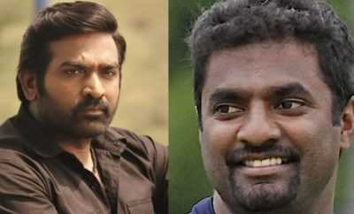 Vijay Sethupathi and Muttaih Muralitharan
