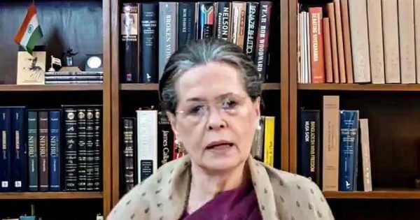 Sonia Gandhi works on revamping Congress