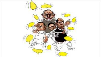 BJP's extensive Hyderabad campaign
