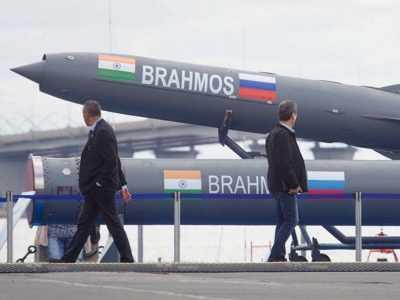 BrahMos missiles