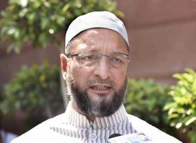AIMIM's Qwaisi accuses BJP
