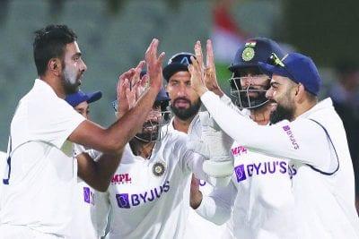 Ashwin led bowler's unit