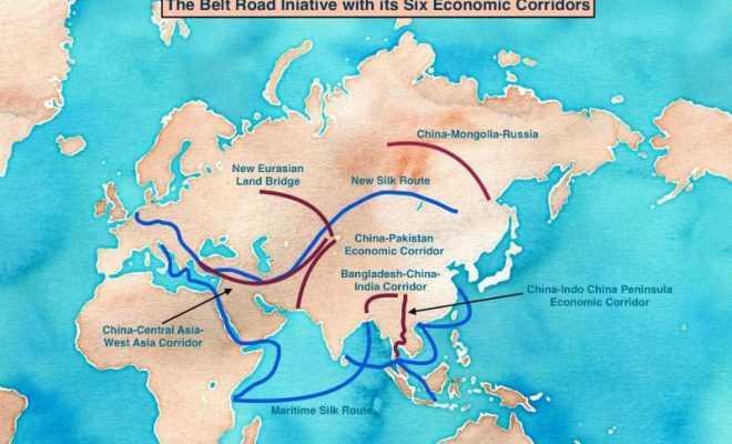 The Chinese BRI