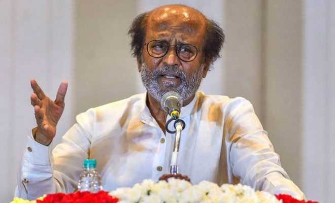 Superstar Rajinikanth to launch political party