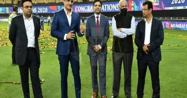 BCCI discuss tax exemption