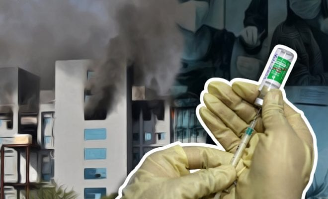 Serum Institute of India building catches fire