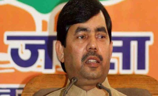 BJP's Shahnawaz Hussain