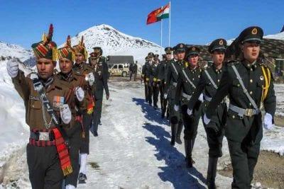 India-China, Galwan border