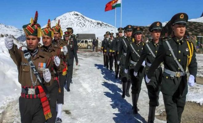 India-China, Galwan border