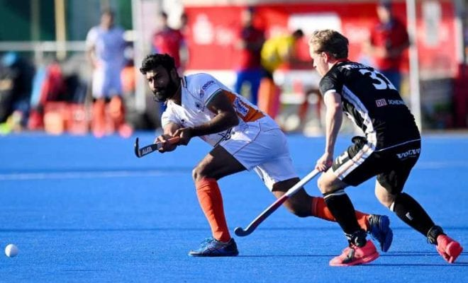India-Germany hockey match ends in a draw