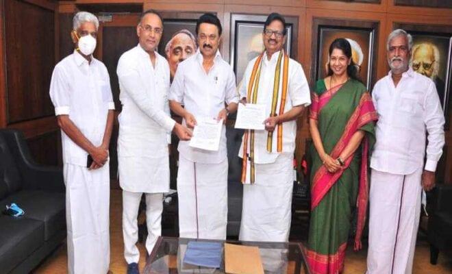 dmk handing over 25 seats to congress