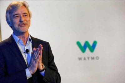 ceo of alphabet's waymo