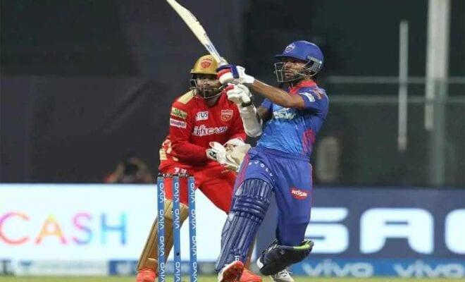 shikhar dhawan leads dc to victory