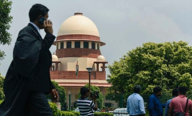 centre calls out on supreme court