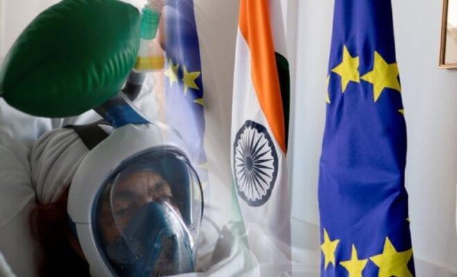 european union sends help to india