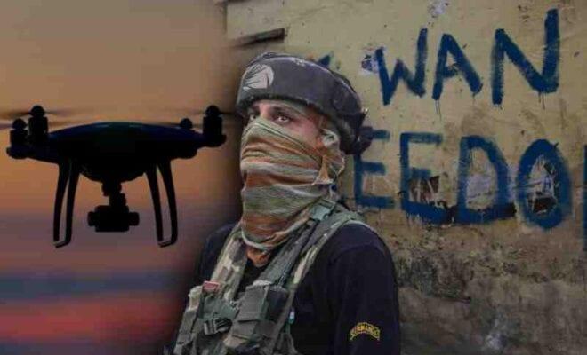 drone strikes at jammu iaf base