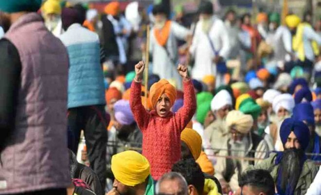 instigating farmers on protest in india