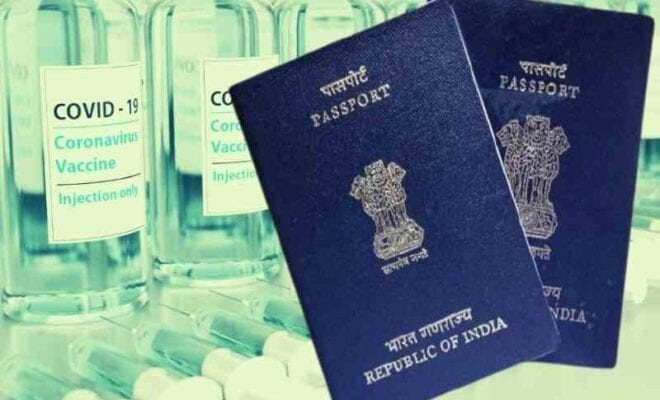 passports linked with vaccination certificate