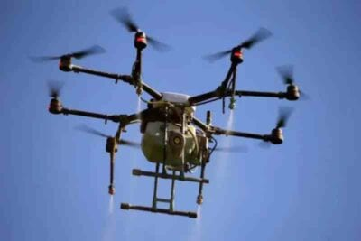 drones to distribute vaccines in india