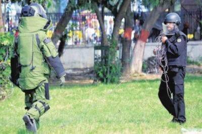 pipe bombs found in tirunelveli