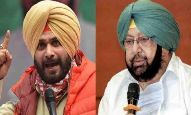 amarinder singh meets punjab congress