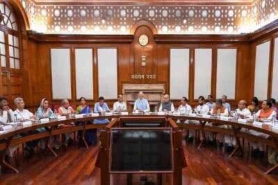 modi cabinet set for reshuffle