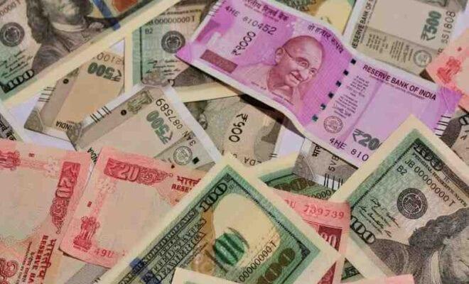 rupee slips 15 paise to us dollar