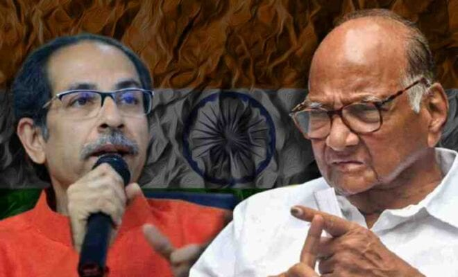 the ncp leader meets thackeray