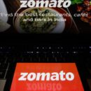 zomato share listing