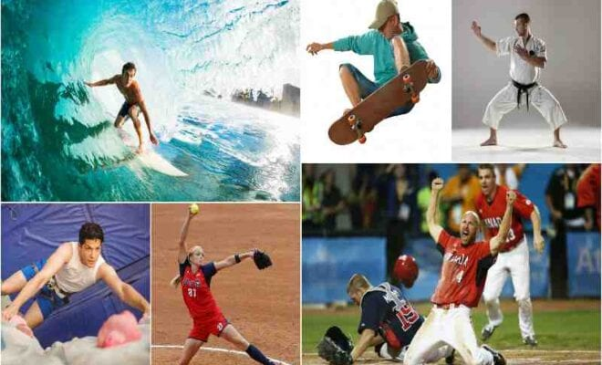 five sports added in tokyo olympics