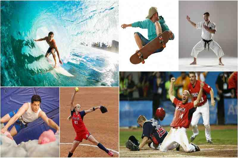 टोक्यो ओलंपिक में शामिल हुए पांच खेल